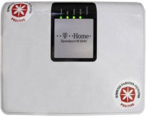 Der Pen Yang CRP Sticker zur Entstörung von WLAN