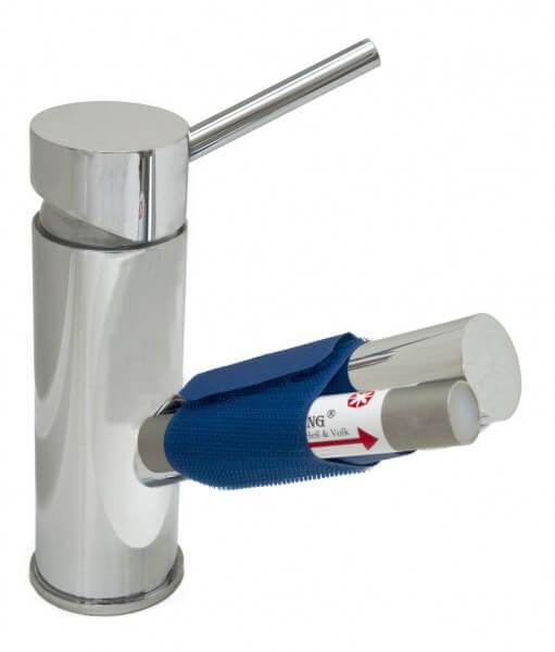 Der PenYang Wasser Impulsgenerator passt an jeden Wasserhahn