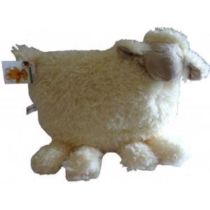 Bezzy das Kuscheltier ist ein Schaf, welches als Wärmflasche geeignet ist