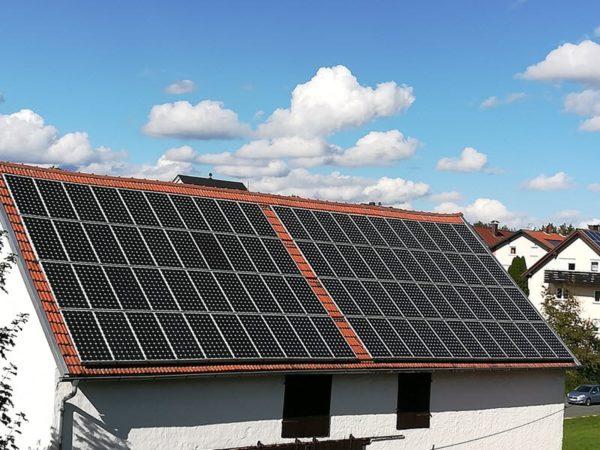 Elektrosmog bei Photovoltaik auf dem Dach