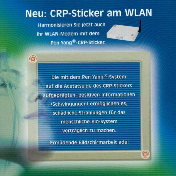 PEN-YANG Computer-Strahlungs-Schutz Aufkleber Anwendung am WLAN