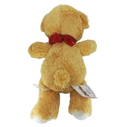 Der (Teddy) mit dem roten Halsband