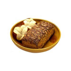 Energieschale gelb mit Brot und Brötchen