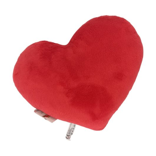 Rotes Kissen Herz ohne Aufschrift