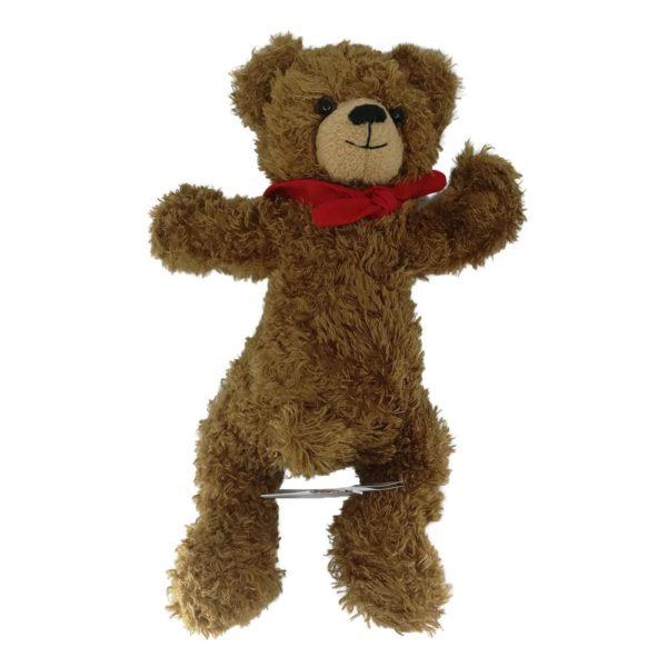 Teddybär mit drehbarem Kopf