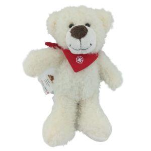 weißer Eisbär Kuscheltier
