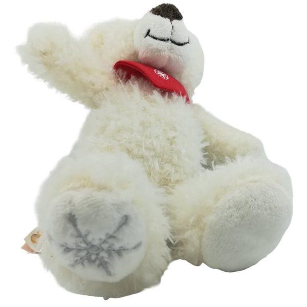 Eisbär Teddybär mit Schneeflocke