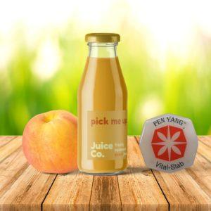 Fruchtgetränk und Vitalslab