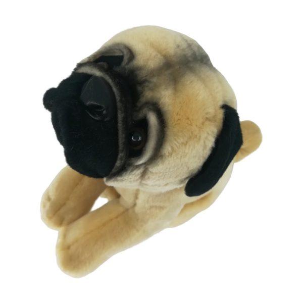 Treudoof kuckender Hund