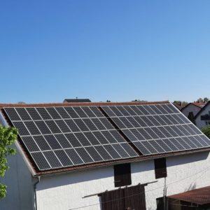 Demobild einer privaten Photovoltaikanlage