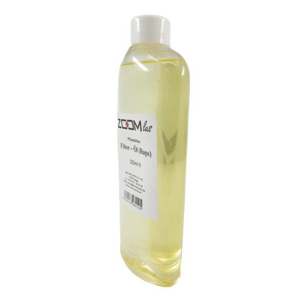 ZOOMlus pflanzliches Filter-Öl Raps