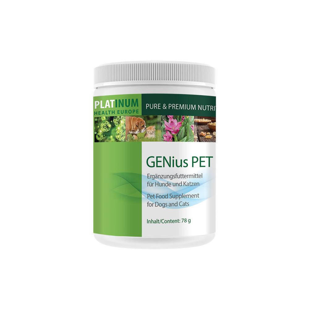 GENius Pet Ergänzungsfuttermittel für Hunde und Katzen Platinum