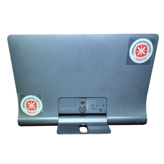 CRP Sticker am Tablet